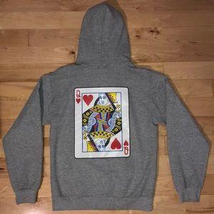 Queen of Hearts Hoodie